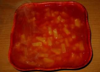 Slatko – kiseli umak sa ananasom