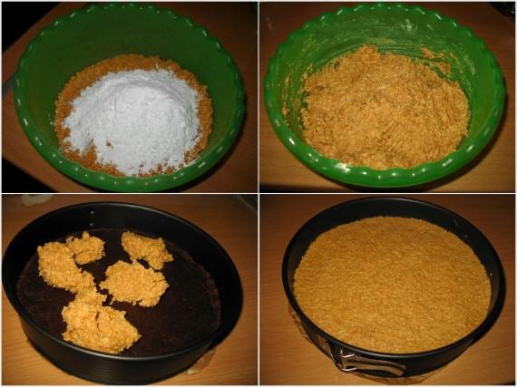 Snickers 2 570x427 Snickers torta – nepečena