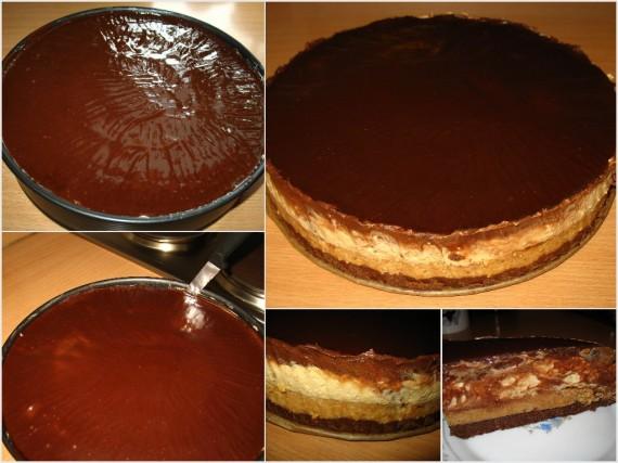 Snickers 4 570x427 Snickers torta – nepečena