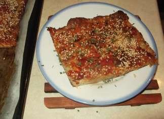 Lažna pica od integralnog hleba