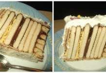 Torta sa tri vrste keksa