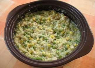Jednostavan rižoto ili rizi bizi kao ručak na brzaka