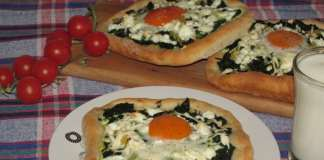 Yumurtalı Otlu Pide