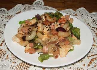Topla salata sa kozjim sirom