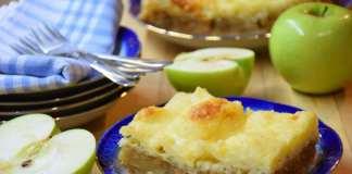 Suva griz pita sa jabukama