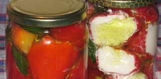 Papričice sa sirom u maslinovom ulju