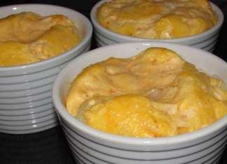 Pečena jaja sa lukom i sirom