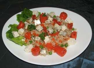 Losos salata