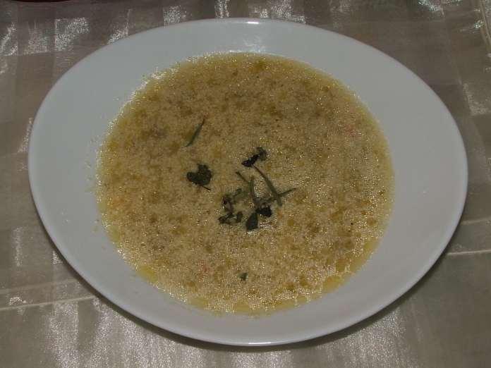 Supa sa prazilukom i mesom