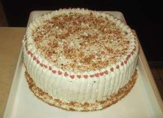 Rodjendanska torta sa napolitankama i višnjama