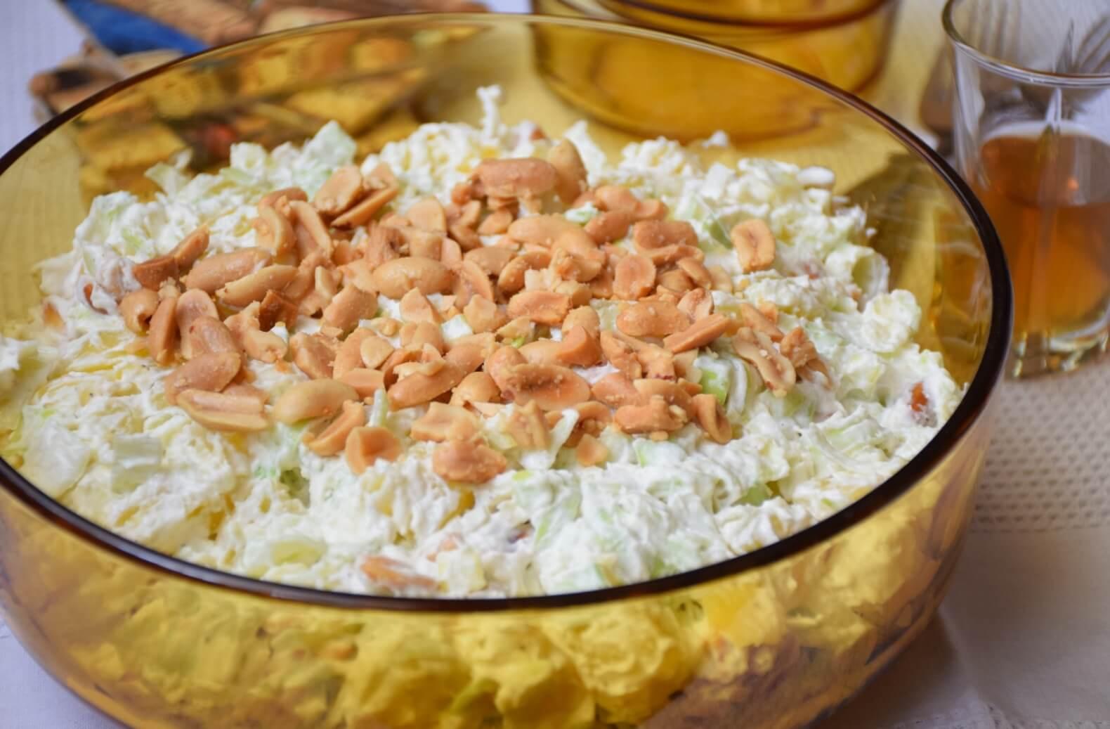 Krompir salata sa prazilukom i kikirikijem