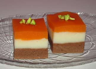 Tricolore jednostavan kolač bez pečenja