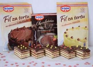 Brze čokoladne vanila rozen kocke – sponzor recepta Dr. Oetker