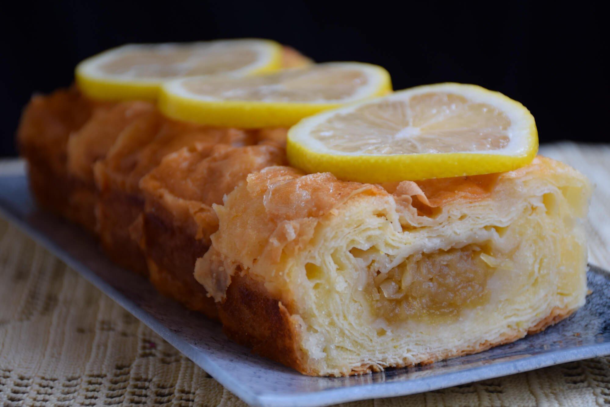 Sočna griz pita sa jabukama ili višnjama