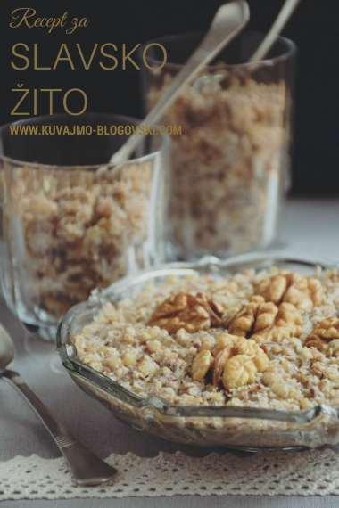 Recept za slavsko žito ili koljivo