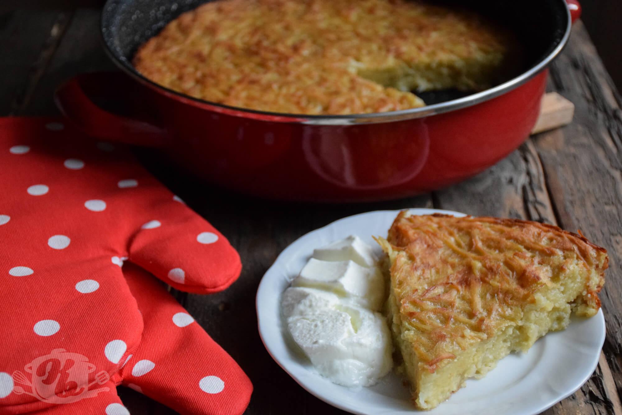 Brza pita sa krompirom - bez kora