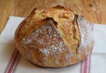 Recept za domaći hleb koji se ne mesi iliti No knead bread